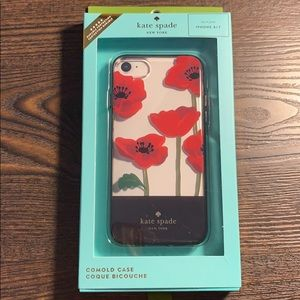 Kate Spade iPhone 7/8 poppy case